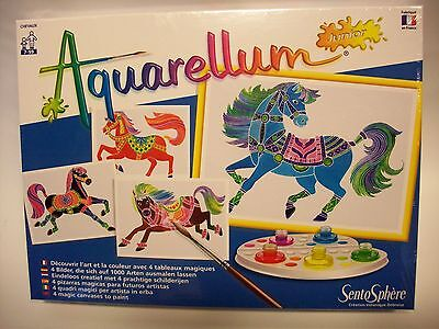 SentoSphere 691 Aquarellum Junior- Pferde - ab 7 Jahre