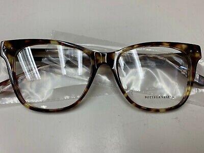 Bottega Veneta Women's Square/Rectangle Optical Frames BV0036O-003 BRAND (Branded Optical Frames)