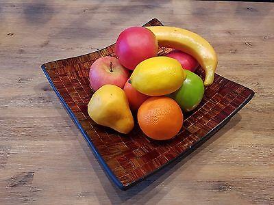 Dekoobst  10 teilig Top Qualität Obst künstliches Obst künstliche Früchte