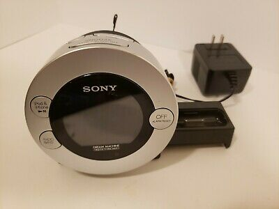 Sony Dream Machine Dual Alarm Clock Radio ICF-C7iP 30 Pin iPod/iPhone Dock