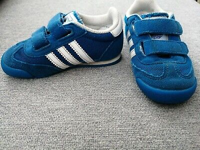 Boys Adidas Dragon Trainers Infant Size 6