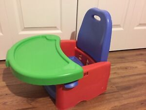 Booster seat foldable compact and colorfull