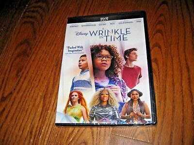 A Wrinkle in Time + Disney Movie Rewards (DVD 2018) New Y-Fold Sealed+ Fast Ship](Halloween Movies In French)