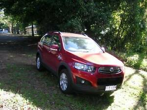 Red. Dec 2015 Holden Captiva Active. 50585 kms excellent condition. $