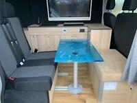 Ausbau Car Klinik Family Camper bei angelieferten VW Crafter L4H3 Niedersachsen - Uelzen Vorschau
