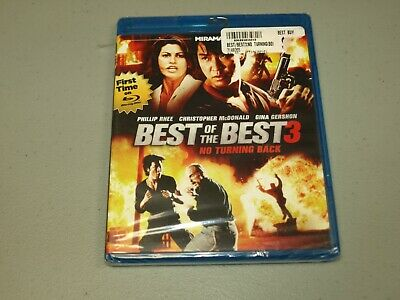 Best of the Best 3: No Turning Back (Blu-ray, 2013) NEW  *RIPPED SHRINK WRAP