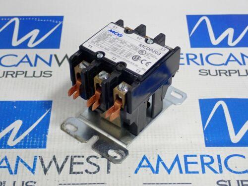 MCG MCDP203 30A CONTACTOR W/ 120V COIL