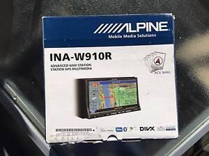 "ALPINE INA-W910R 7.0"" 2DIN GPS MULTIMEDIA BLUETOOTH HEAD UNIT Ashfield Ashfield Area Preview"
