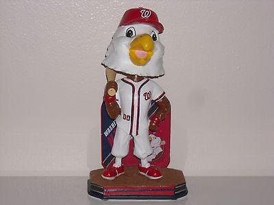 SCREECH Washington Nationals Mascot Bobble Head 2016 Limited Edition New* MLB