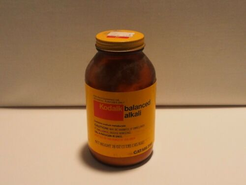 Kodak Balanced Alkali Film Development Chemicals - Near Full