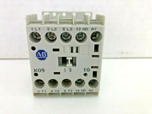 ALLEN BRADLEY 100-K09*10 100-K09DJ10 SER A CONTACTOR 24VDC COIL