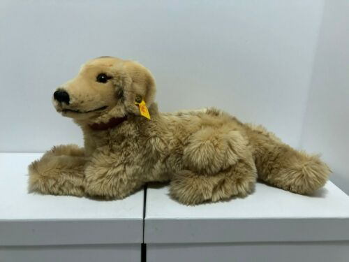 STEIFF Hektor Golden Retriever 33 No. 078484 Dog Steiff Tierleben