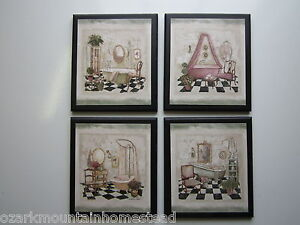 Victorian bathtubs 4 wall decor plaques paris bathroom french pictures