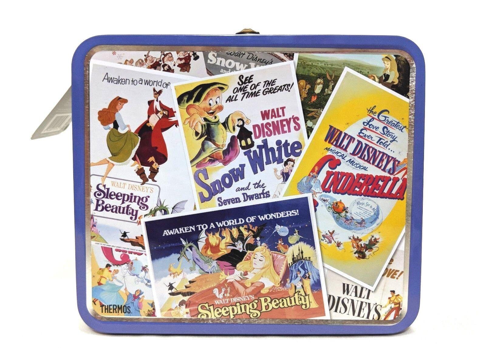 Thermos Metal Disney Classic Princess Lunch Box - Vintage-lo