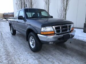 2000 Ford Ranger XLT, 4x4, auto, off-road, 101k!