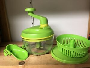 Tupperware Quick Chef Pro Food Chopper Blender
