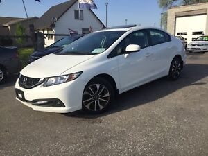 2014 Honda Civic EX Sedan, Automatic,93,000Km, Safety, Warranty