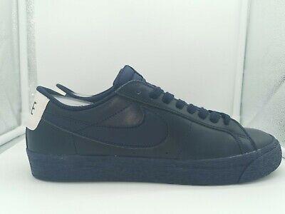 Nike SB Zoom Blazer Low UK 10.5 Obsidian Blue Leather 864347-403