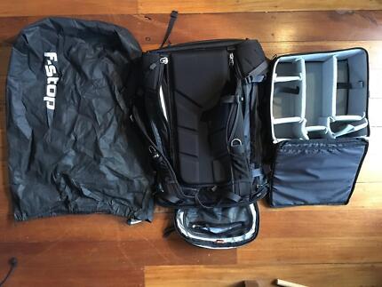 F-Stop Ajana Black Camera Bag with Medium Slim ICU