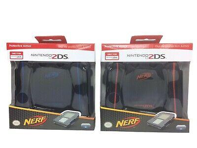 Nerf Armor Case (PDP 2DS Nerf Foam Armor Comfort/Grip Case for Nintendo 2DS System READ ALL B/Buy )