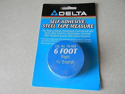 Deltabiesemeyer 79-068 6 Rh Tape 34 English Markings 6-14