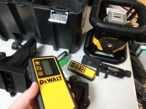 DeWalt DW079LG 20V MAX Li-Ion Green Beam Rotary Tough Laser, IP67, 2000ft. Range