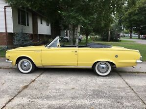1965 Plymouth Valiant Signet Convertible
