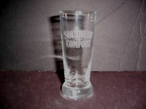 Southern-Comfort-Mini-Pilsner-Ale-Double-Shot-Glass-With-Etched-Writing
