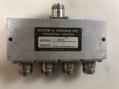 Avcom 4 Way Splitter Pd-4