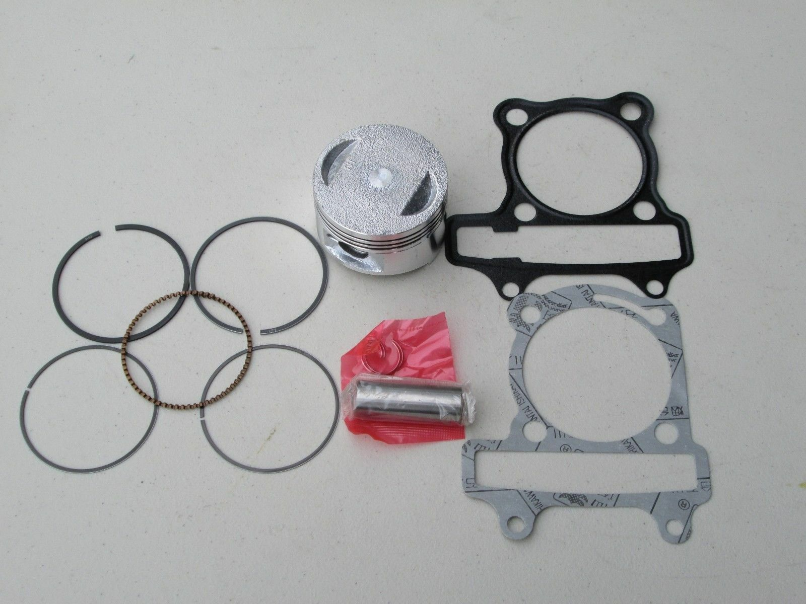 HAMMERHEAD TWISTER 150 GT GTS 150CC GO KART PISTON & RINGS W/ HEAD GASKETS SET