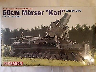 """Dragon 6179 60cm Mörser """"Karl"""" Gerät 040 1:35 Neu und versiegelt"""