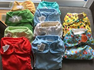 Cloth diaper selection