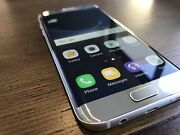 Samsung galaxy S7 edge 32gb Silver in excellent condition  Kuraby Brisbane South West Preview