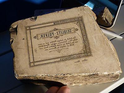 Historischer Lithographiestein - Seidlitz Pulver #9083K