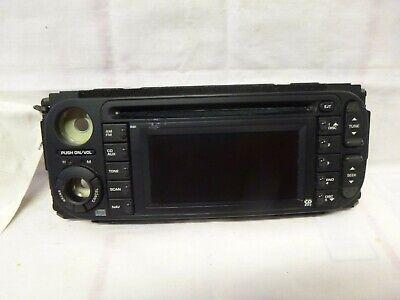 02-08 Dodge Chrysler Jeep Radio Cd Navigation RB1 Face Plate P56038629AH ACK95