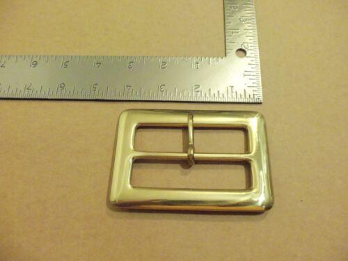 "3"" Solid Brass Middle Bar Santa Claus Belt Buckle"