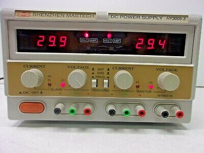 Shenzhen Mastech Hy3005-3 Dc Adjustable Triple Power Supply 30 Volts 5 Amps