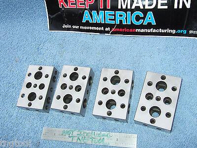 Blocks 4 Fresh Grind Machinist Parallels Toolmaker Inspect Grind Mill Edm Qa