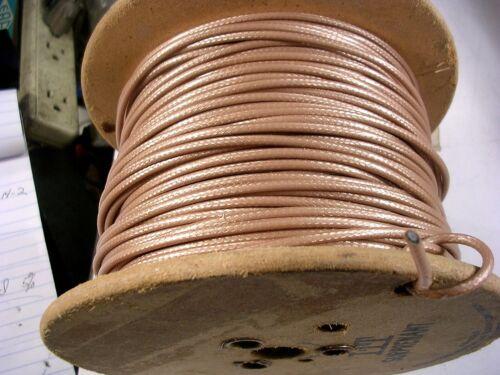 ITT  SURPRENANT Coaxial Cable Mil spec  M17-152/00001  25