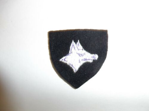 b3728 WW 2 Italian Dog Handler Patch IR3B