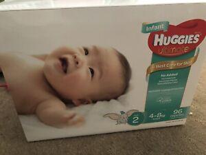 Baby Huggies size 2 nappies