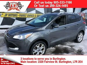 2015 Ford Escape Titanium, Auto, Navigation, Pan Sunroof, 4WD
