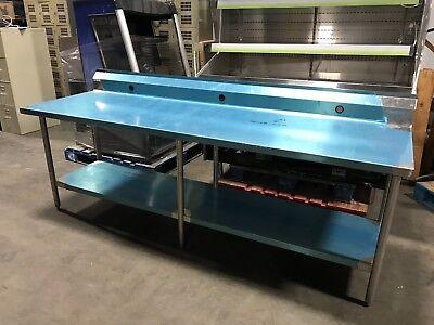 New Win-holt Stainless Steel Work Table Restaurant Equipment.