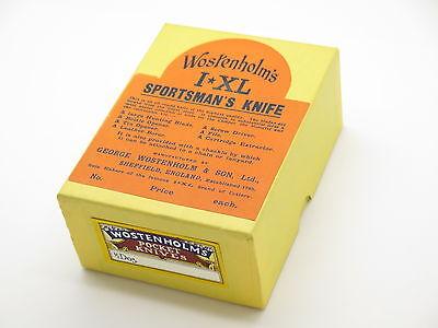 Vtg NOS Knife Box for Wostenholm IXL Sportsman Utility Folding Pocket Knife