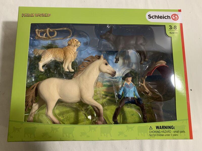 *New* Schleich Farm World, Western Riding #42419. Fast Shipping