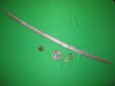 Japanese WW2 Sword Blade Battle Damaged for Restoration or Knife Making