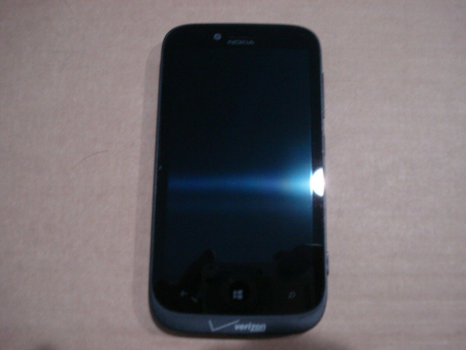 Nokia Lumia 822 Windows 8.1 Smartphone 16GB Verizon- Black Used RM-845  - $0.99