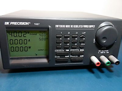 Bk Precision 1697 Programmable Dc Power Supply 1-40vdc 0-5a Slightly Used