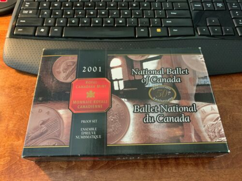2001 Royal Canadian Mint National Ballet of Canada Proof Set Original Box
