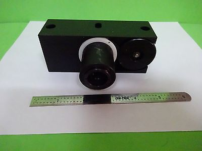 Microscope Polyvar Reichert Leica Illuminator Iris Path Optics As Is Binw2-04